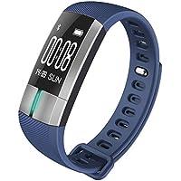 GXLO Fitness Tracker Monitor de Ritmo cardíaco Monitor de Actividad IP67 Impermeable Pulsera Inteligente Salud Deporte