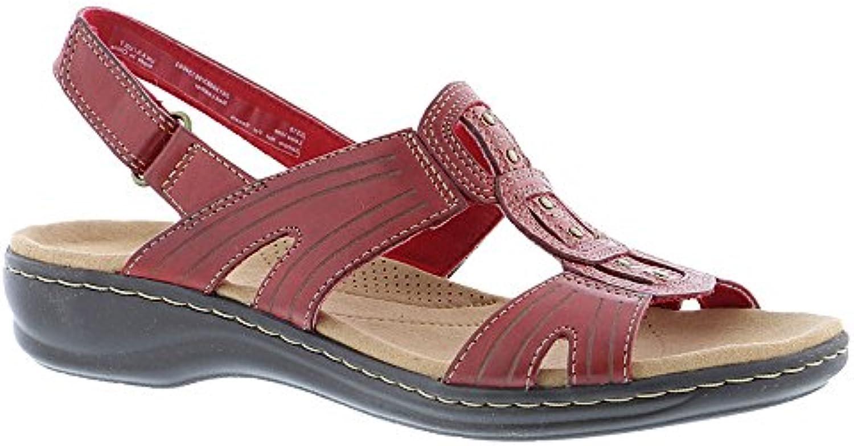 Clarks Wouomo Leisa Vine rosso Leather 6 C US | | | Benvenuto  | Uomini/Donne Scarpa  cf3e86
