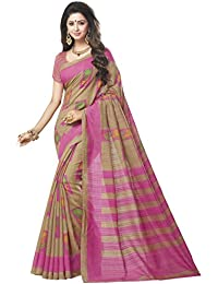 TRUNDZ Women's Pure Cotton Embroidered Saree Partywear/ Wedding Saree /Casual Wear Saree With Blouse Piece