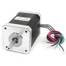 DealMux NEMA 17 2 Fase Moinho Robot Torno CNC Stepper Motor 62 milímetros 1.5A 107oz