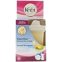 Veet - Recambio de cera para EasyWax roll-on eléctrico (para ingles y axilas, pieles sensibles, 50 ml)