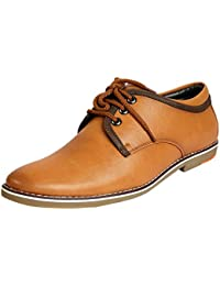 ADEL TAN Colour Leather Casual Shoes For Men - B0758Z7KCJ