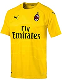 save off 45acf 1edc3 Puma 2018-2019 AC Milan Home SS Goalkeeper Shirt (Yellow)