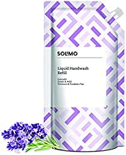 Amazon Brand - Solimo Handwash Liquid Refill, Lavender - 750 ml