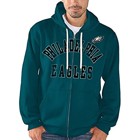 "Philadelphia Eagles NFL G-III ""Varsity"" Full Zip Hooded Men"