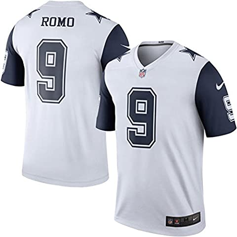 9 Tony Romo Trikot Dallas Cowboys Jersey American Football Shirt Mens Color Rush Legend