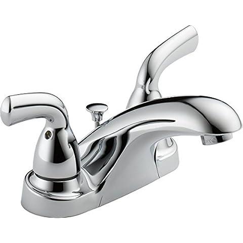 Delta b2510lf-ppu Basi core-b due maniglia centerset Lavatory rubinetto,