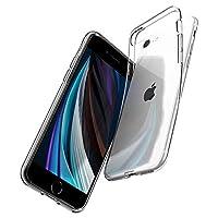 Spigen Liquid Crystal Serisi Kılıf iPhone SE 2020/7/8 ile Uyumlu  / 4 Tarafı Tam Koruma - Şeffaf