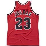 WELETION Youth #23 Jordan Jerseys de Baloncesto para niños Maillot Retro Kid's Rojo (S-XL)