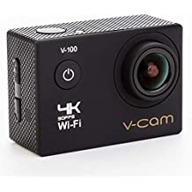 V-CAM Action Camera 4k Wifi 16 MP with High Speed Shooting & Definition Equipped with IP68 waterproof case,durable waterproof to 100 Feet Including 22 Accessories