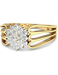 PC Jeweller The Carsie 18KT Yellow Gold & Diamond Rings