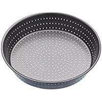 Kitchen Craft Crusty Bake Molde Redondo, Acero, Plateado, 23 cm