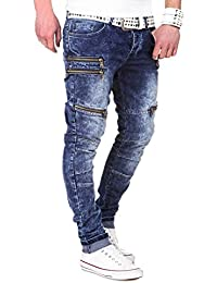 MT Styles Zipper Jeans Slim Fit pantalon RJ-2026