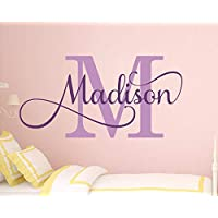Girl Name Wall Sticker Girls Name Wall Sticker Wall Decor Girls Name Sticker Name Wall Sticker Name Sticker Nursery Name Sticker Personalised Monogram