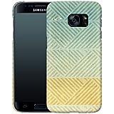 Handyhülle mit Designs für Ihn: Samsung Galaxy S7 Hülle / aus recyceltem PET / robuste Schutzhülle / Stylisches & umweltfreundliches Hard Case - S7 Hüllen: Triangles Artifact von Brent Williams