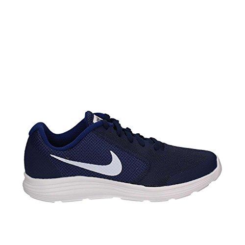 Nike NIKE REVOLUTION 3 (GS) 819413 406 Jungen Schnürhalbschuh sportlicher Boden, Größe 36.0 (Nike Schuhe Größe 4)