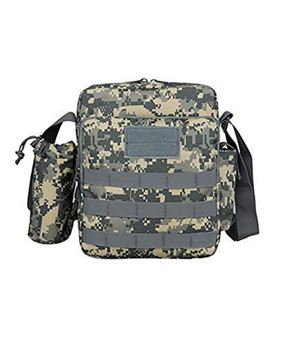 Zhuhaimei,Tactical Rucksack wild Schulter Schulter Tasche Oxford Stoff wasserdichte Tasche(color:ACU Digital)