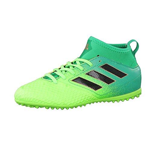pretty nice 52547 7761e adidas Ace 17.3 TF J, Scarpe per Allenamento Calcio Unisex – Bambini, Verde  (VersolNegbasVerbas), 32 EU