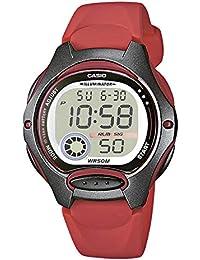 Casio Reloj Digital para Mujer de Cuarzo con Correa en Resina LW-200-4AVEF