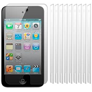 APPLE IPOD TOUCH 4 4G 4TH GENERATION SCREEN PROTECTORS 10-IN-1 PACK