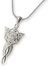 Big Arwen's Evenstar (real silver) out of Lord of the Rings - 925 silver necklace