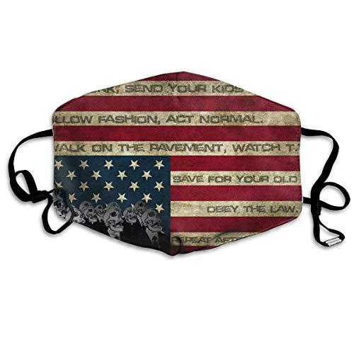 Preisvergleich Produktbild Monicago Anti-Staub-Maske,  Polyester-Maske,  Schlangenschuppen,  Anti-Staub,  Gesichtsmaske für Kinder,  Jugendliche,  Männer,  Frauen,  Junge,  Mädchen