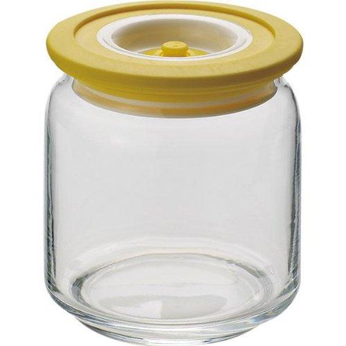 Dicoal-Contenitore in Vetro Cottura Sottovuoto T. Gialla Dicoal 0,5 L