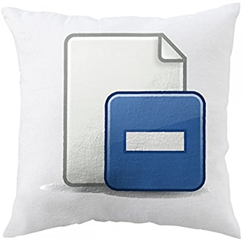 Pillow with Document with minus from an old icon theme once made for xfce also keep in mind that it was based on a fixed color palette