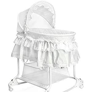 Baby Stubenwagen Babykorb Bettwäsche Untergestell EU-Produkt Neu Design 7F