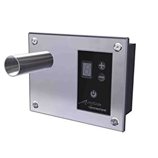 Amba ATW-DHC-B Digital Heat Controller, 5-7/8-Inch x 4.625-Inch, Brushed by Amba
