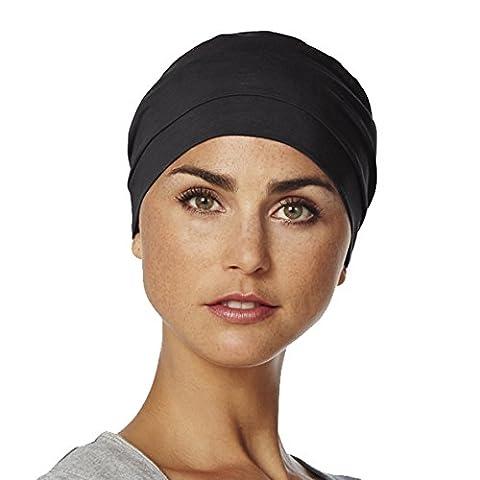Bonnet chimio Amablis couleur noire