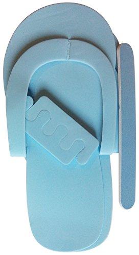 Spa Pediküre Hausschuhe Kit Blau - Pedi Hausschuhe