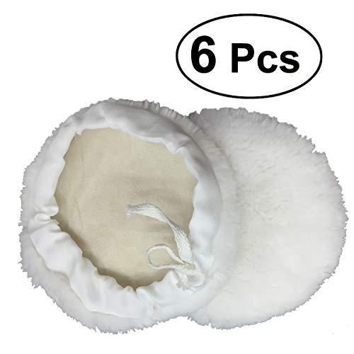 Cera almohadillas almohadillas de pulido de lana de pulir manualidades