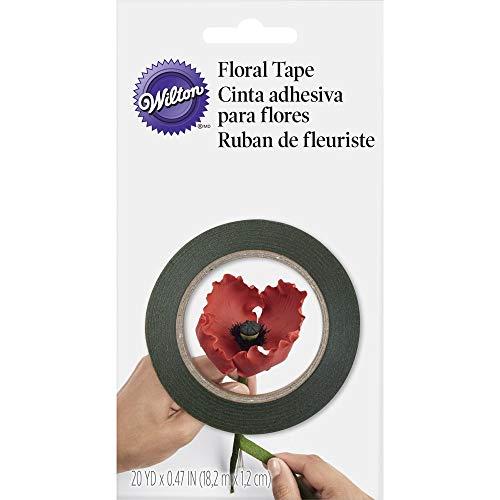 Wilton 1005-4455 Gum Paste Floral Tape, grün, Holz, 1.27x8.89x15.24 cm -