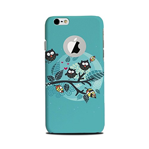 Furious [Slimfit] [Durable] Hard Plastic Printed Back Cover for iPhone 6 Plus /6s Plus Logo Cut