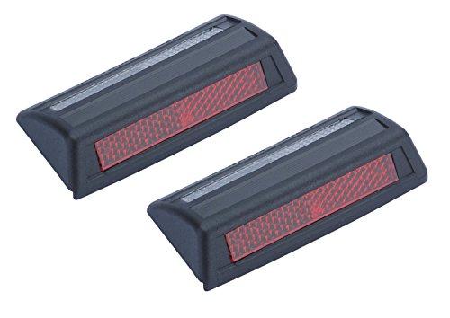 Preisvergleich Produktbild Richter 12110301Auto Tür Guard Sicherheit Fahren 2-Wege Seite Reflektor rot weiß 2P