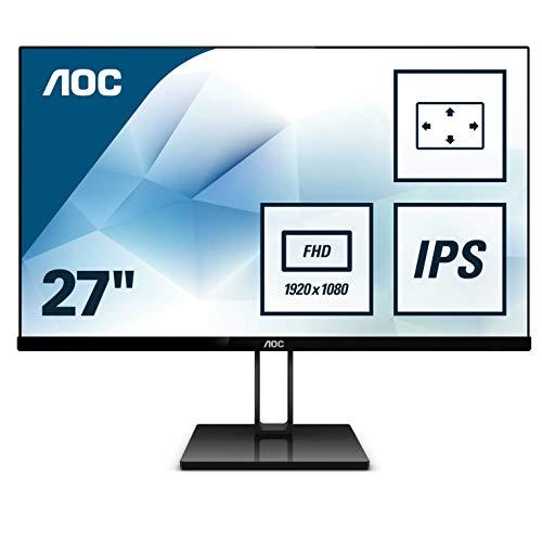 "AOC 27V2Q – Monitor de 27"" Full HD IPS"