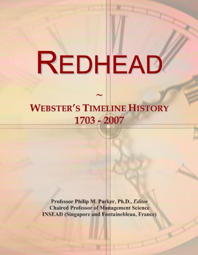 redhead-websters-timeline-history-1703-2007
