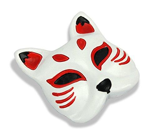 Iconic estilo japonés imán para nevera–Kitsune Fox máscara