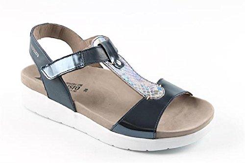 Chaussures pour femmes Mephisto, Sandali Donna Blau