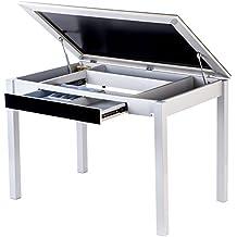 mesas cocina cristal
