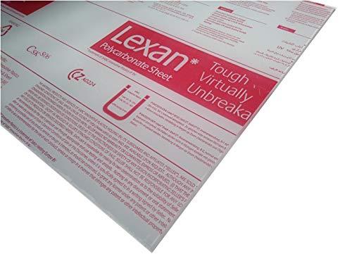 4 mm, 200 x 200 mm Makrolon//Polycarbonat Scheibe//Platte Zuschnitt 2-8 mm transparent//klar