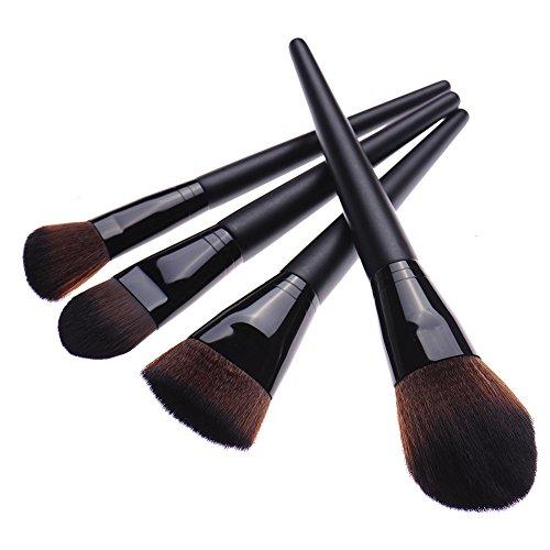 4x Portable Kabuki Concealer Set haute qualité Make Up Foundation Blusher Brush