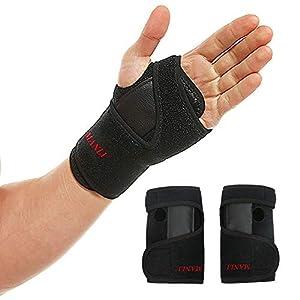 Handgelenkbandage Handgelenkschiene, 1 Paar Handgelenk Schienen Bandage Stütze für Karpaltunnelsyndrom, Sehnenscheidenentzündungen, Schmerzen mouse-hand-Syndrom und Sport Verletzungen