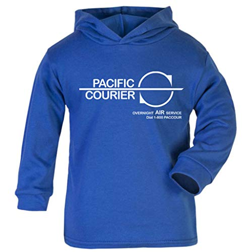 Cloud City 7 Die Hard Pacific Courier Baby and Kids Hooded Sweatshirt