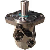 Motor hidráulico de repuesto para Danfoss OMP serie 80 cc, 2 pernos de montaje brida G1/2 NPT puertos, eje 25 mm, TG02012