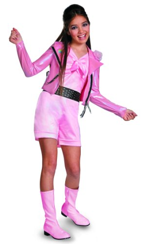 Teen Beach Lela Biker Deluxe Child Kostüm (Small)
