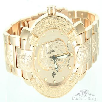 aqua-master-rose-gold-finish-jesus-dial-watch-iced-diamond-maxx-mens-full-metal