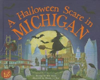 [ A HALLOWEEN SCARE IN MICHIGAN: PREPARE IF YOU DARE (HALLOWEEN SCARE) ] James, Eric (AUTHOR ) Aug-01-2014 Hardcover