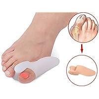 LPWORD Silikon Toe Separator, Ein-Loch Täglich Hallux Valgus Orthopädische Fußpflege Zehe, Big Toe Valgus Reparatur preisvergleich bei billige-tabletten.eu